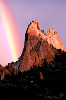 Cathedral Rock and the Rainbows End**